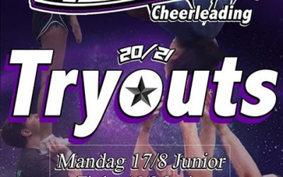 Tryouts 17.8 (junior) og 18.8 (senior)
